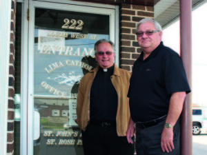 The Rev. David Ross and the UAW's John Paradore know that developing strong relationships in the community goes a long way toward solving problems.