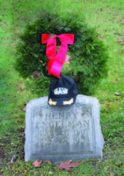 Kohler Grave With Hat