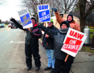 Local 833 members who work at Kohler Co., in Wisconsin went on strike for a month last year. The amount of support they received from the community was a critical factor in sustaining them through the strike.