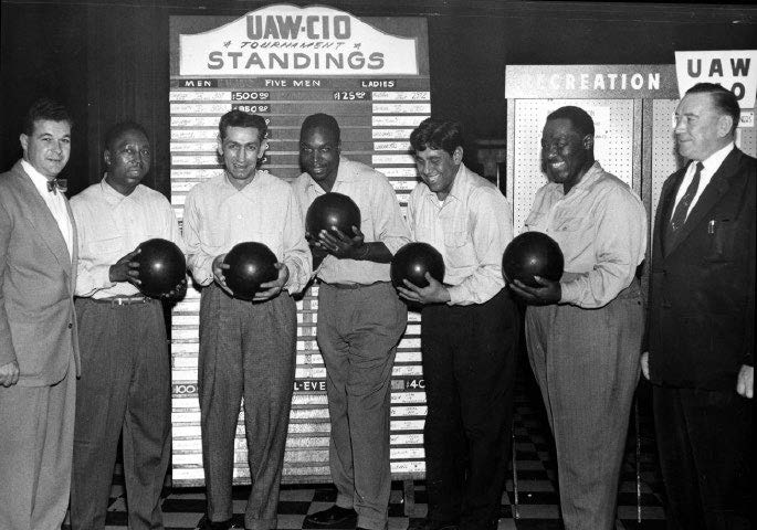 The UAW's strong participation in desegregating bowling alleys is an important piece of our union's history.