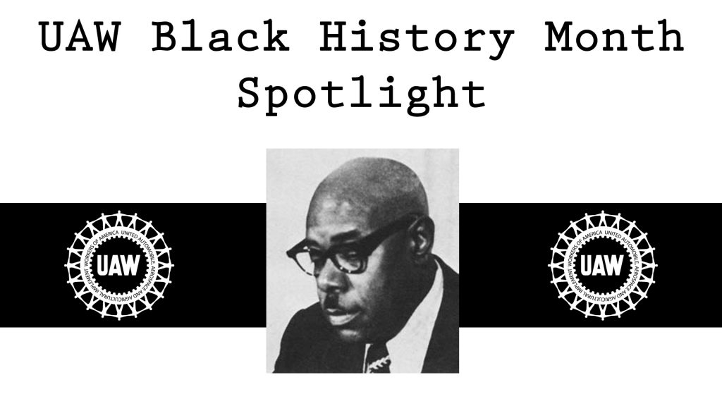 Black History Month, Nelson Jack Edwards