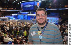 UAW member Joe Kanzleite