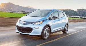 Motor Trend magazine said the Chevrolet Bolt bested foreign competition like the Jaguar XE, Porsche 911 and Tesla Model S. PHOTO COURTESY CHEVROLET