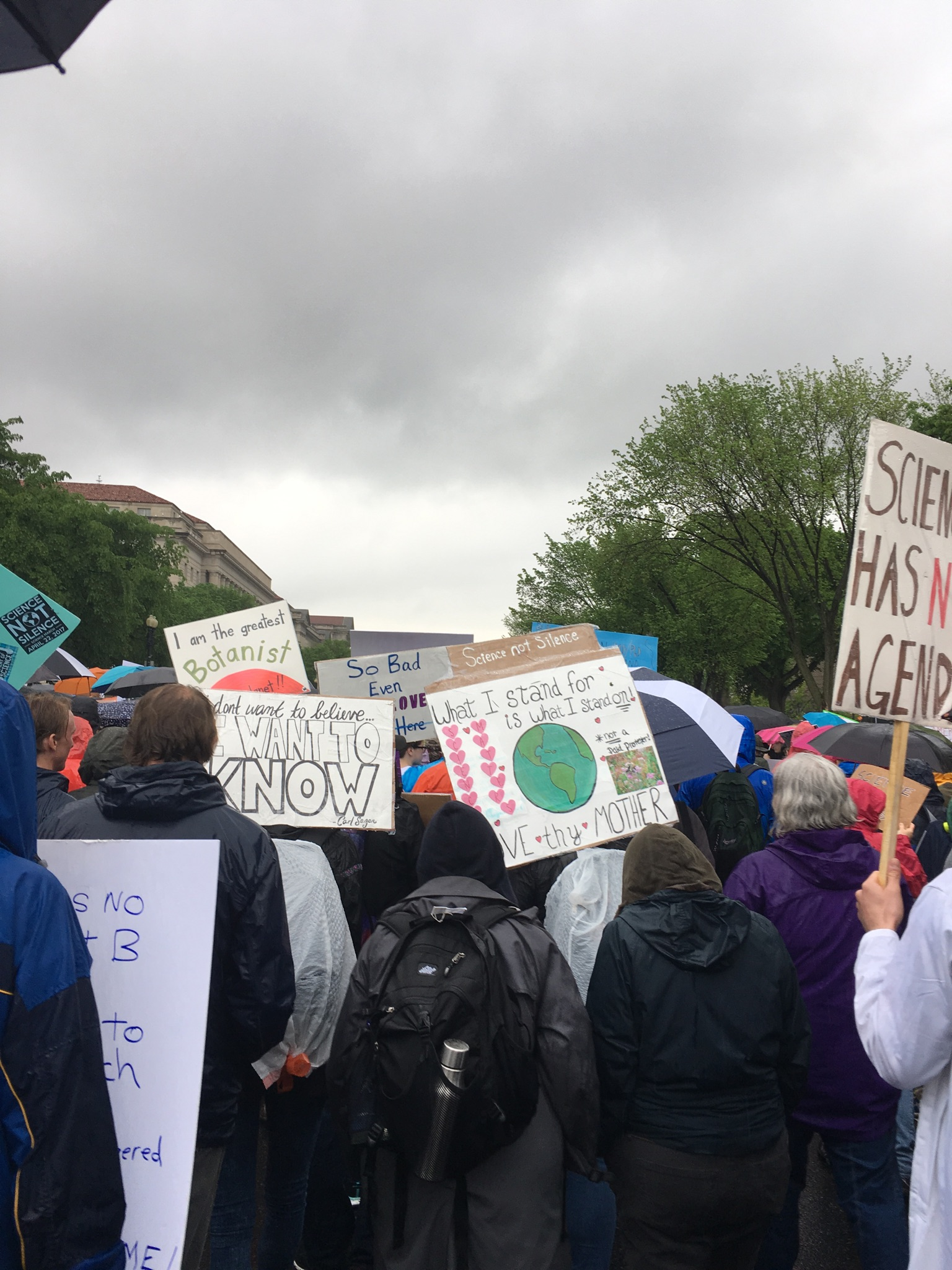 What we saw at the March for Science | UAW
