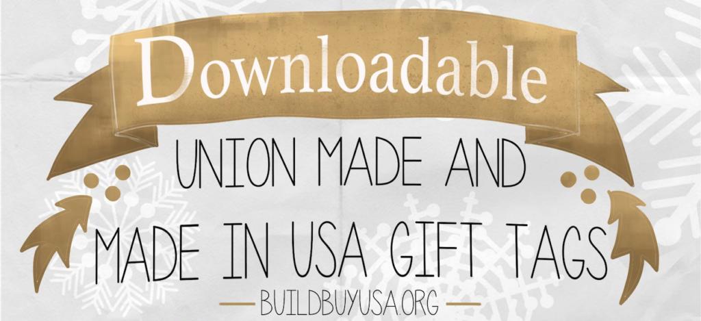 BuildBuyUSA Gift Tags