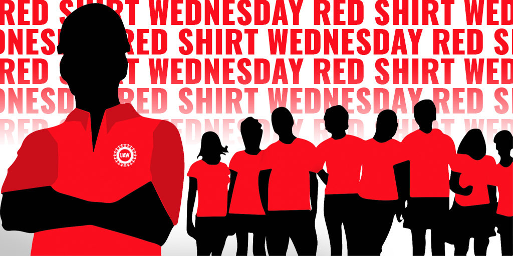Red Shirt Wednesday