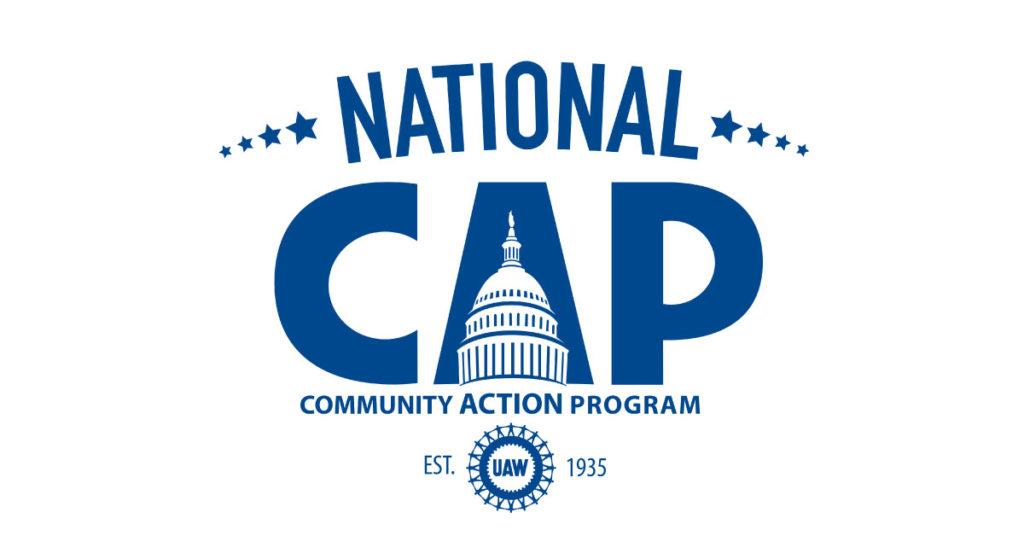 UAW National CAP Logo