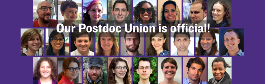 University of Washington Postdocs: It's official: WE ARE A UNION! | UAW
