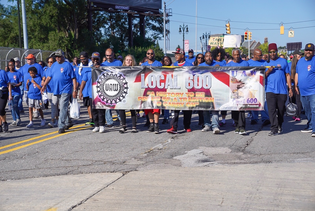Labor Day March in Detroit shows worker Solidarity | UAW