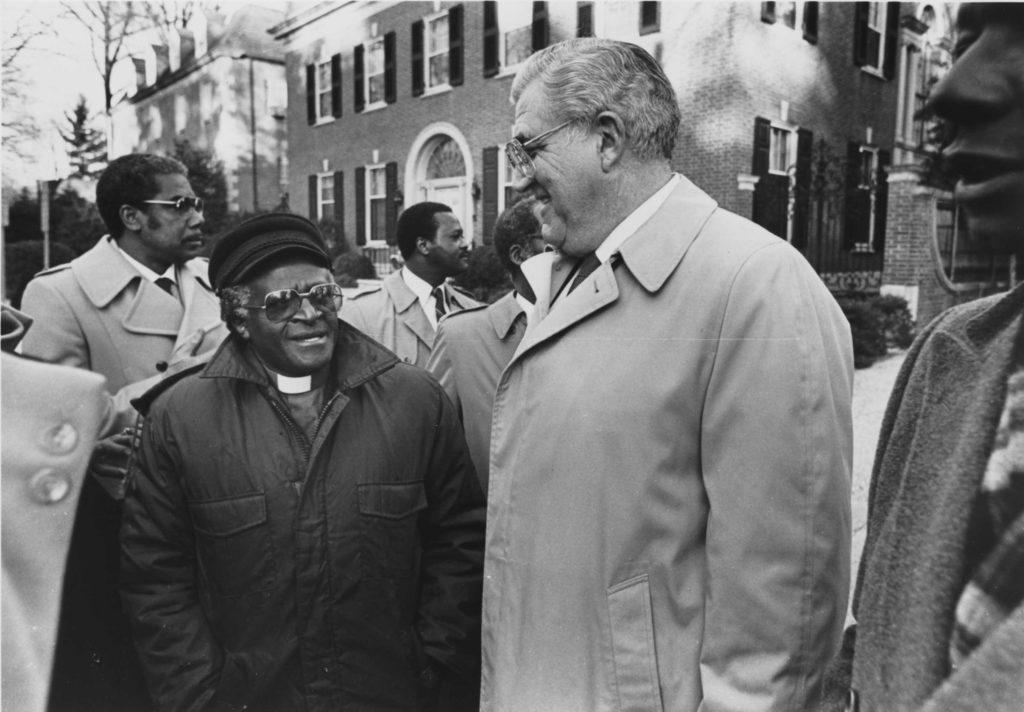 Archbishop Desmond Tutu and Owen Bieber